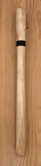 Maple Spurtle with pyrography handle transition